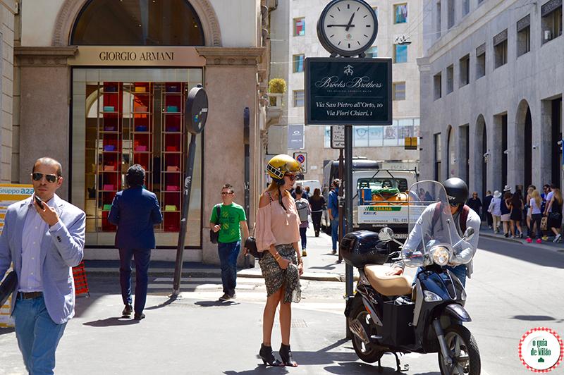 Como se vestir na primavera e verão em Milão