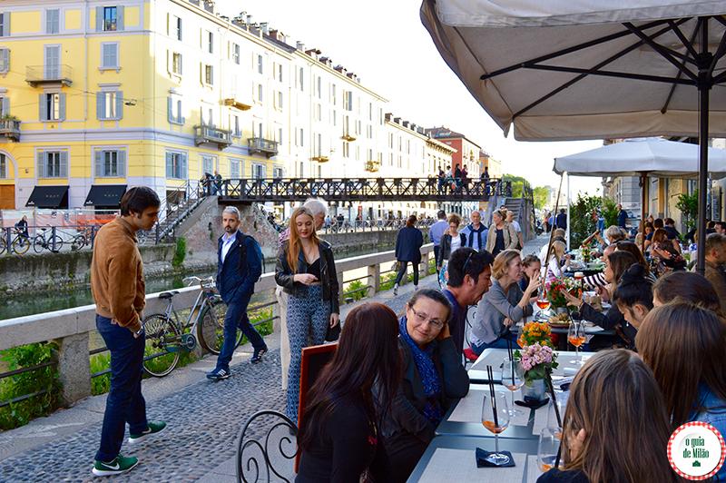 Como se vestir no vereão em Milão na Itália