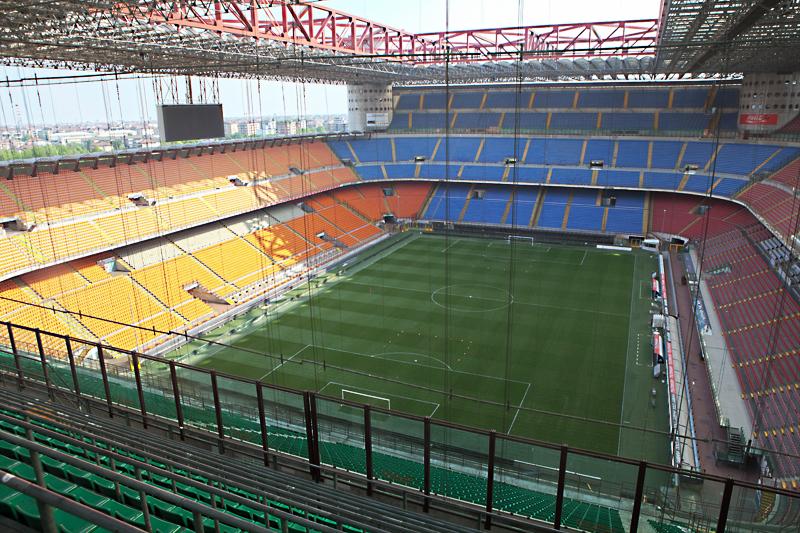 Estádio Ac Milan e Inter de Milão Excursão em ônibus panorâmico