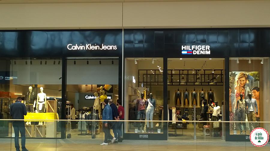Lojas de roupas em Milão shopping em Milão