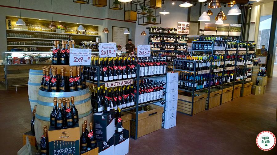 Onde comprar vinhos em Milão