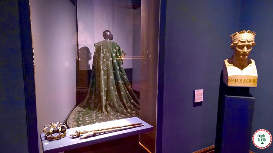 O museu do Risorgimento da Itália em Milão