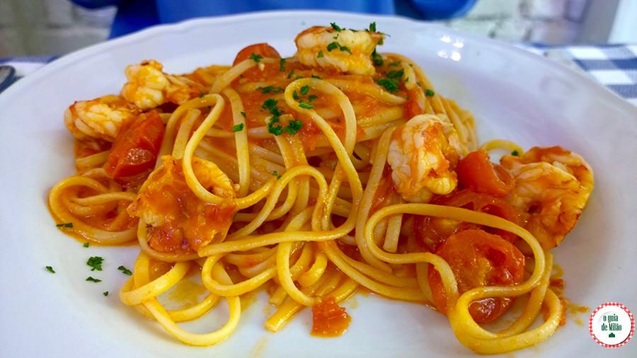 Dica de restaurante em Milão Il pesciolone Isola