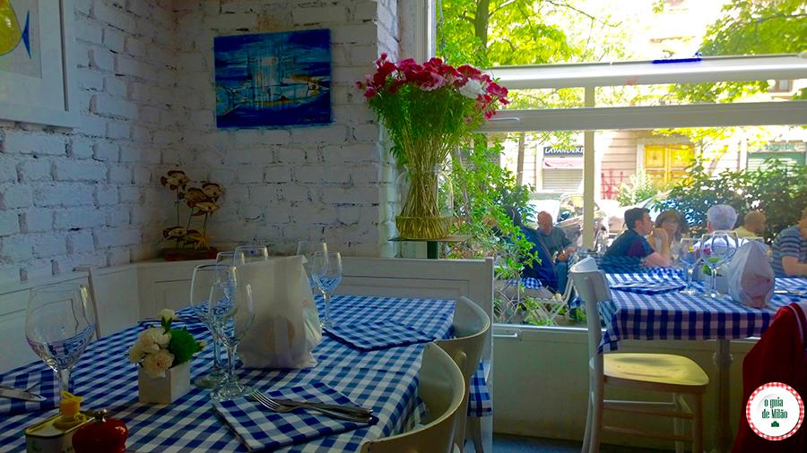 Onde comer em Milão Isola Il pesciolone