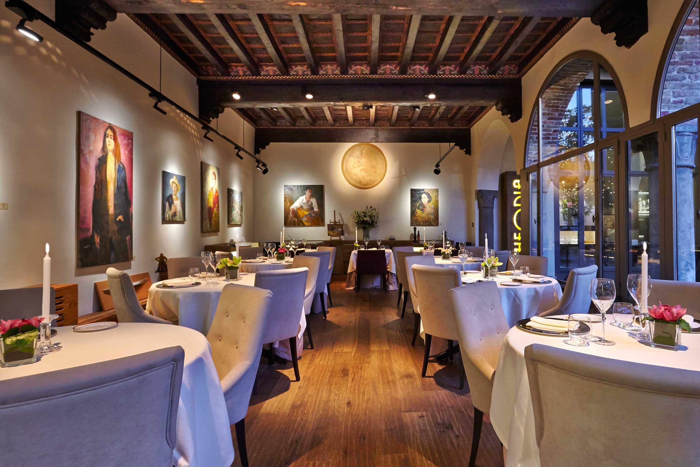 Restaurante Michelin Como Itália I tigli in Theoria