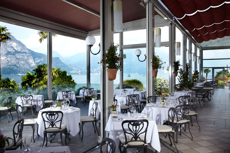 Restaurante Michelin Lago di Como Bellagio Mistral