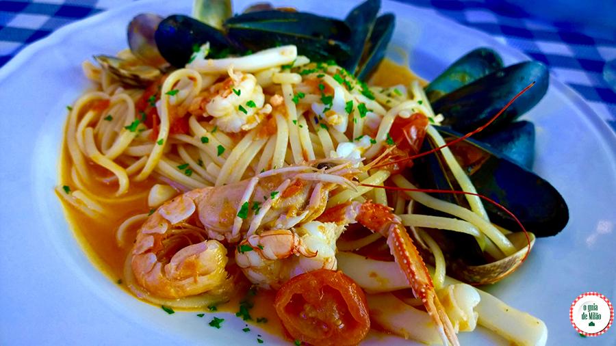 Restaurante de frutos do mar em Milão Il pesciolone