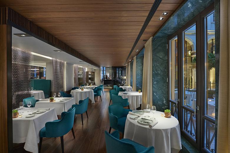 Restaurantes 1 estrela Michelin em Milão Restaurante Seta Milão
