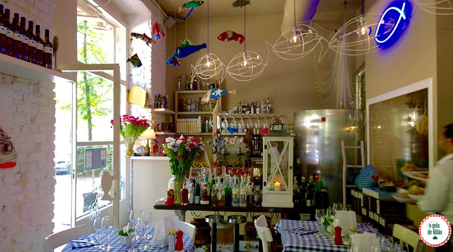 Restaurantes bons em Milão Il pesciolone Bairro Isola