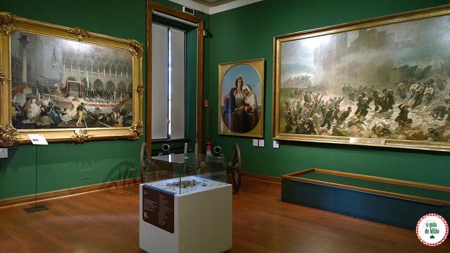 Turismo em Milão O museu do Risorgimento da Itália em Milão