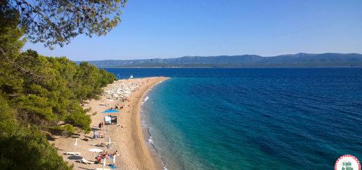 As melhores praias da Croácia Zlatni Rat