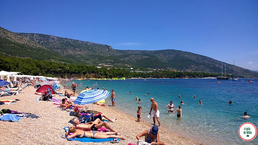 As melhores praias da Croácia Zlatni Rat em Bol