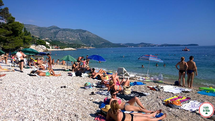 As melhores praias de Dubrovnik Croácia
