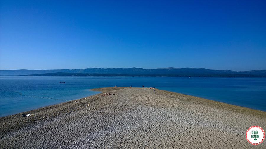 As praias mais bonitas da Croácia Zlatni Rat