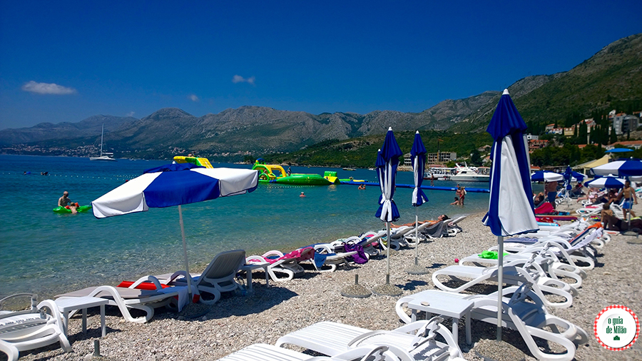 As praias mais bonitas de Dubrovnik Croácia