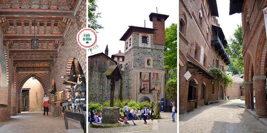 Atrações imperdíveis de Turim A aldeia medieval