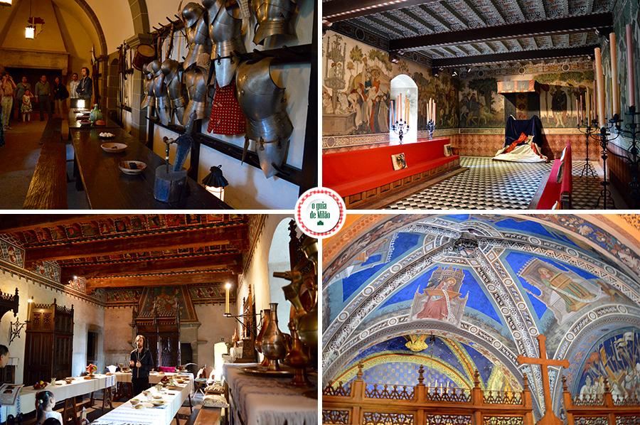 Blog de viagem de Turim Aldeia medieval de Turim