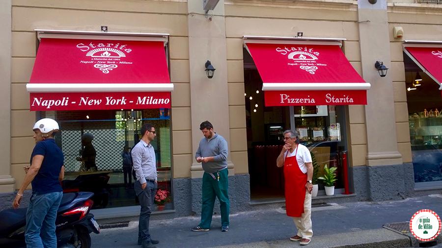 melhor pizza em Milão Pizzaria Starita