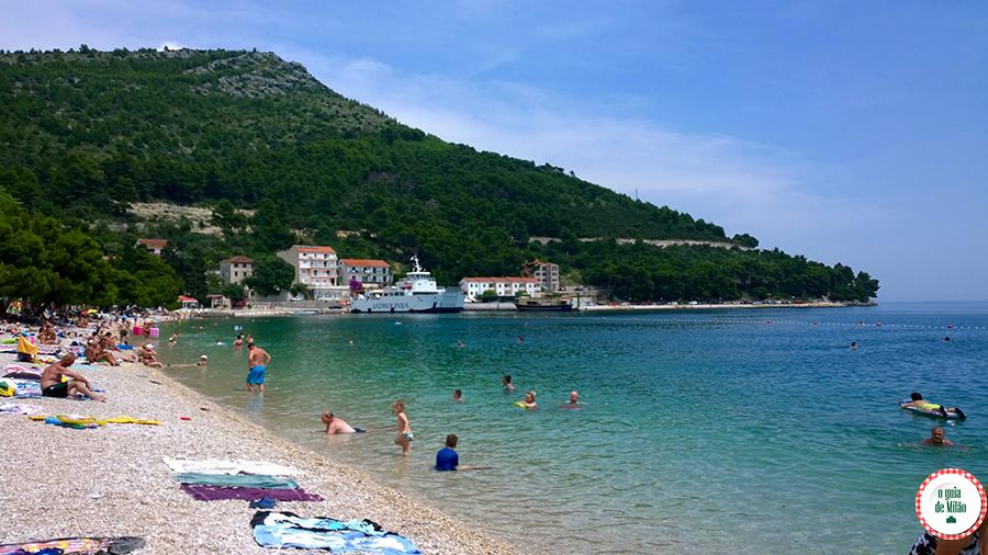 Dicas da Croácia Praia de Drvevnik