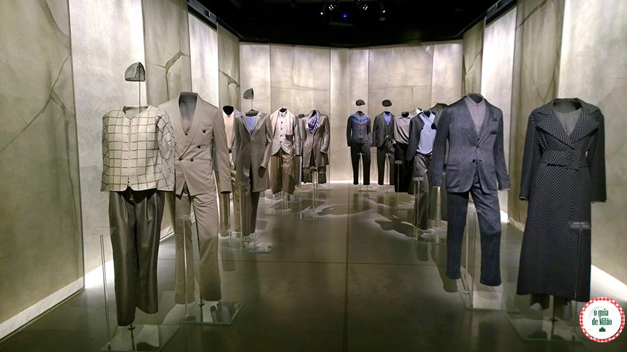 Moda em Milão Museu da moda Armani