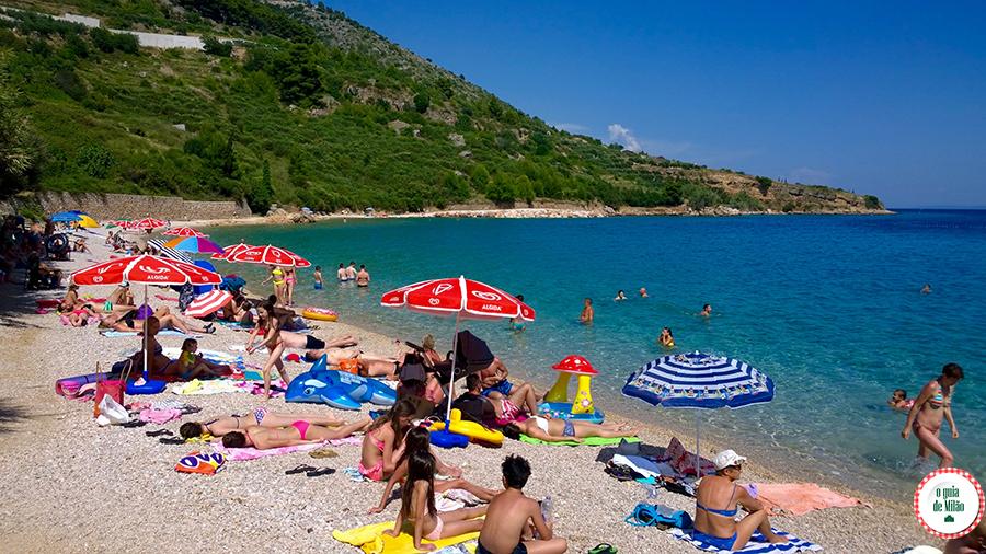 O melhor da Croácia Ilha de Brac Glavica