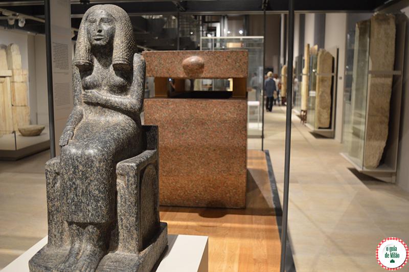 O museu egípcio de Turim Museus em Turim