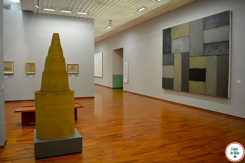 O que fazer em Turim em 1 dia GAM Galeria de Arte Moderna de Turim