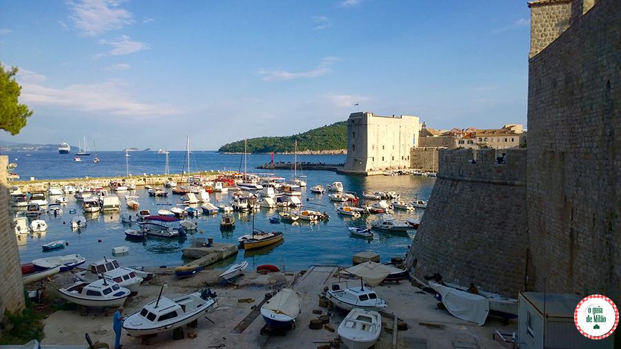O que visitar em Dubrovnik Croácia