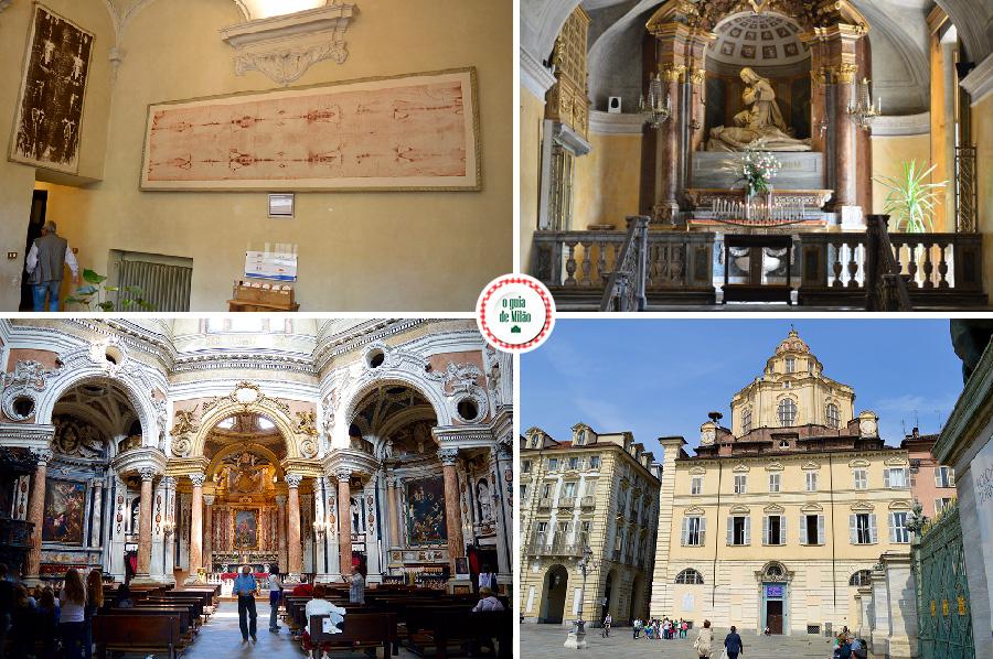 O santo sudário de jesus em Turim na Itália