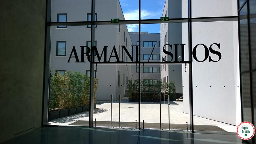 Armani Silos Milão Itália
