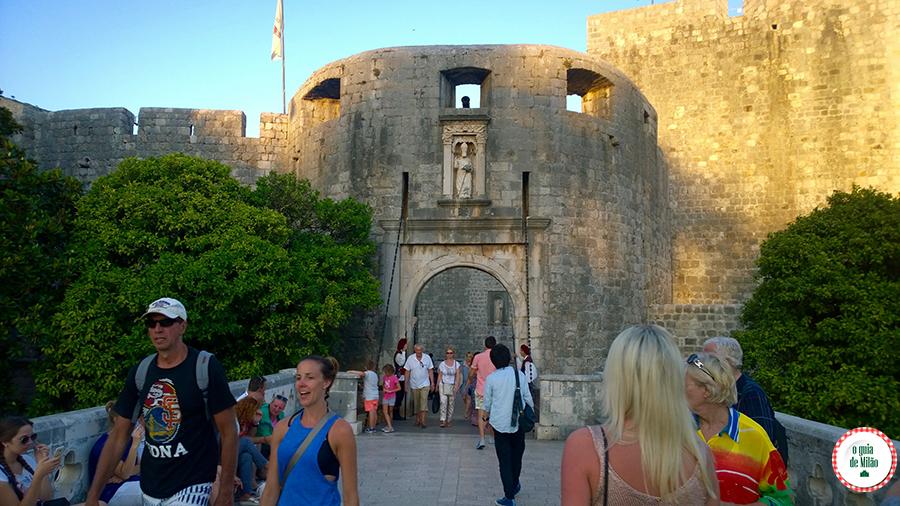 Pontos de interesse de Dubrovnik Croácia