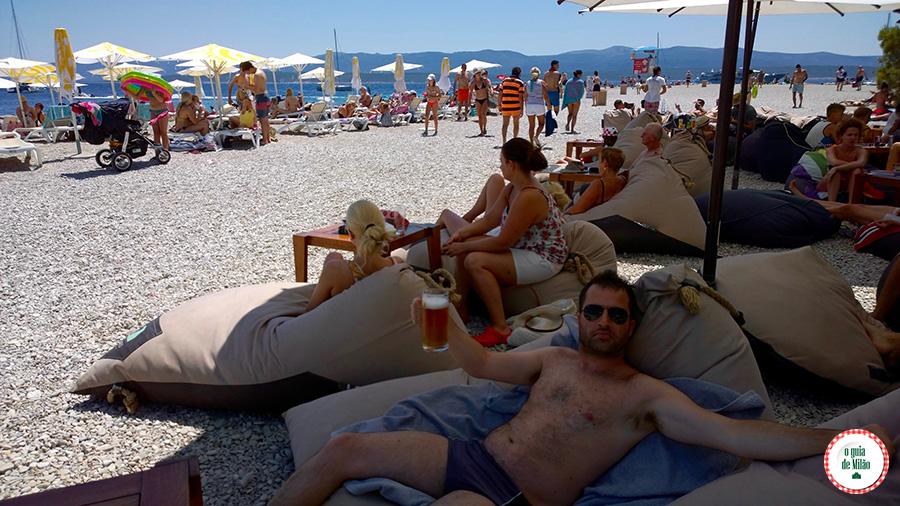 Pontos turísticos da Croácia Zlatni Rat