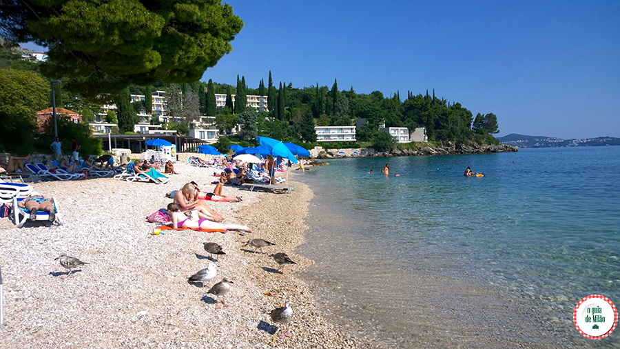 Praias de Dubrovnik Croácia