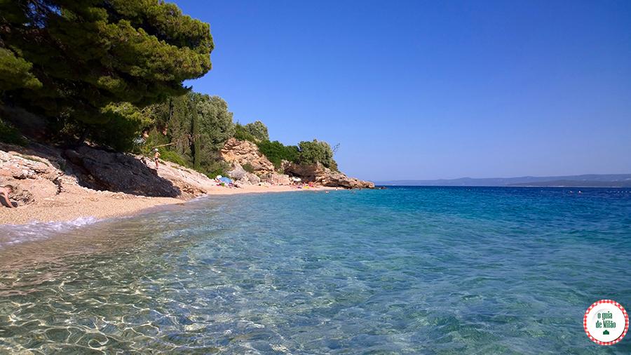 Quando ir a Croácia Praia de Murvica Bol