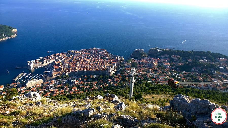 Teleférico Dubrovnik Croácia