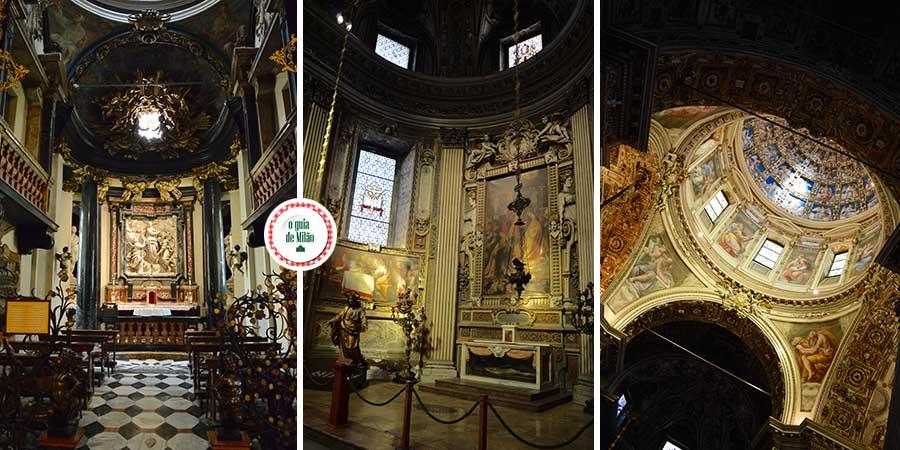 As melhores igrejas de Milão Itália