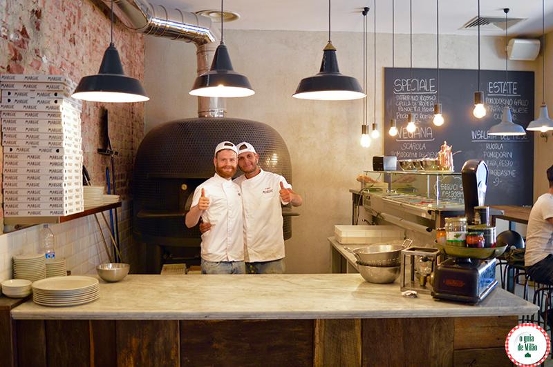 As melhores pizzarias de Milão Itália