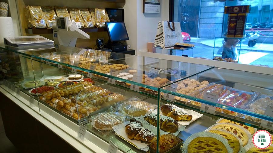 Confeitarias em Milão Gastronomia da Itália