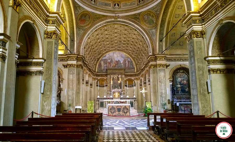 Igrejas em Milão As melhores igrejas de Milão Itália