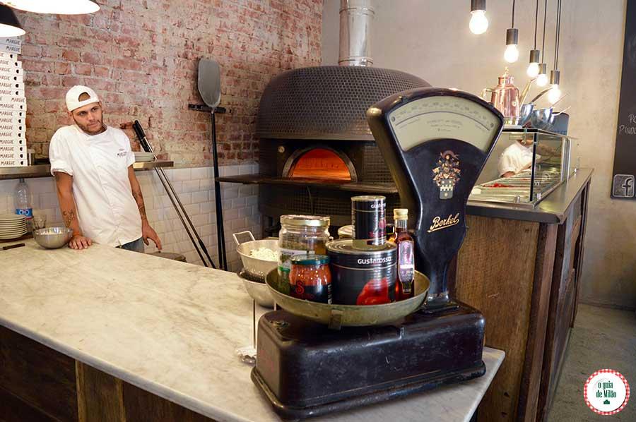 melhores Pizzarias em Milão Pizzaria Marghe