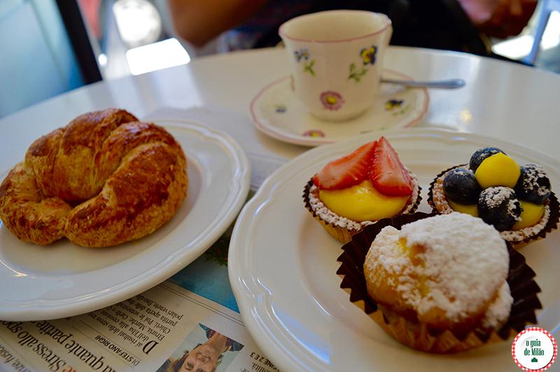 Onde tomar café da manhã em Milão