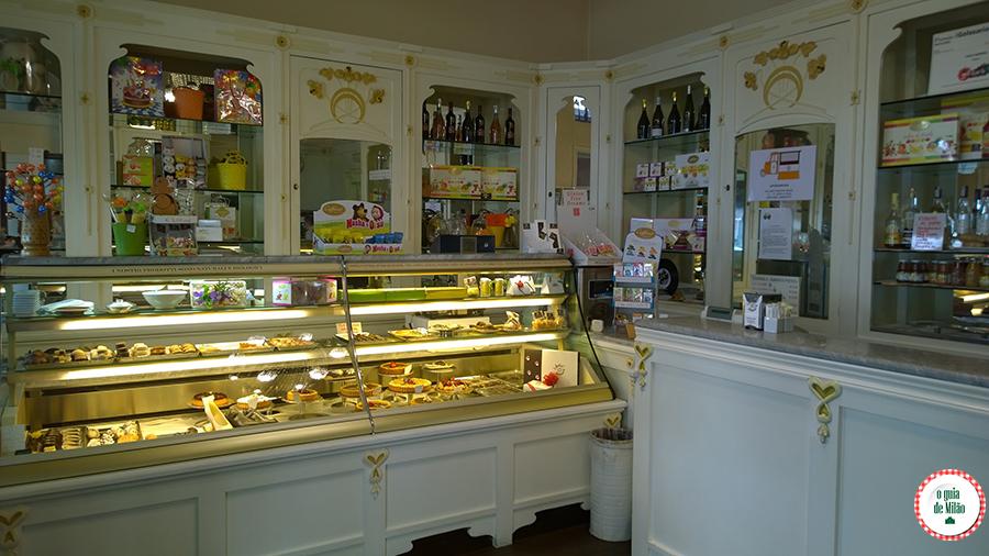 Pastelarias em Milão Itália