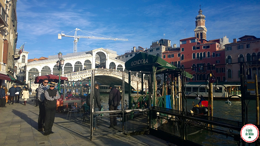 Pontos turísticos de Veneza Itália