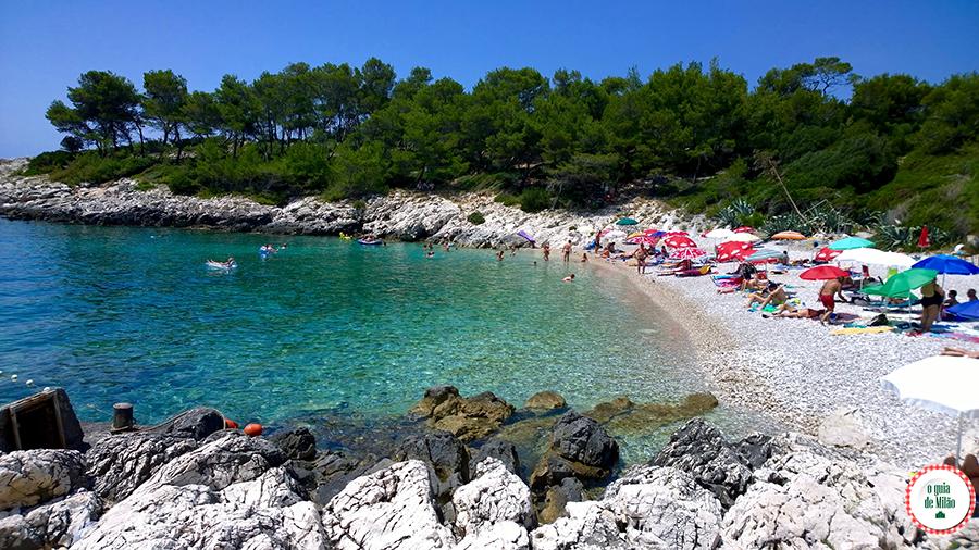 As melhores praias de Hvar Croácia