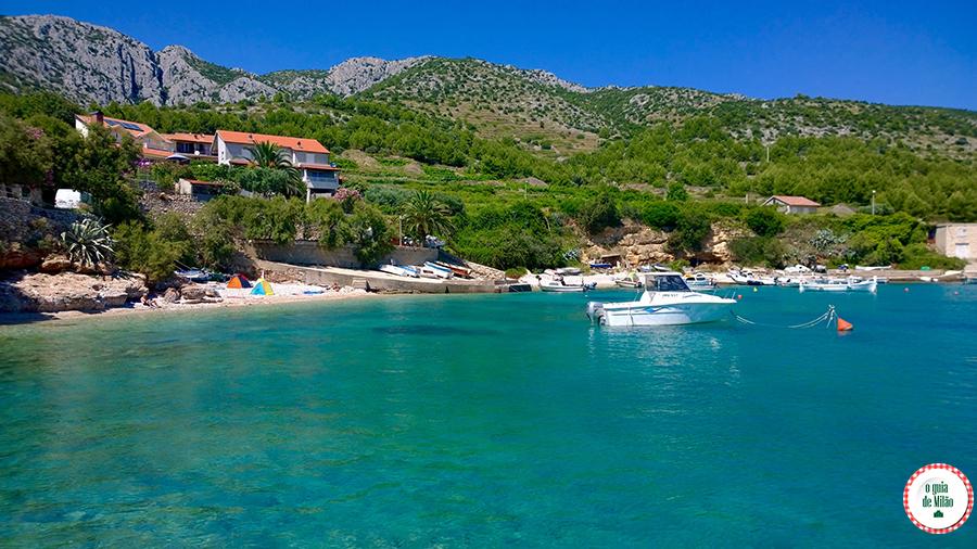 Hvar ou Dubrovnik Praias Croácia