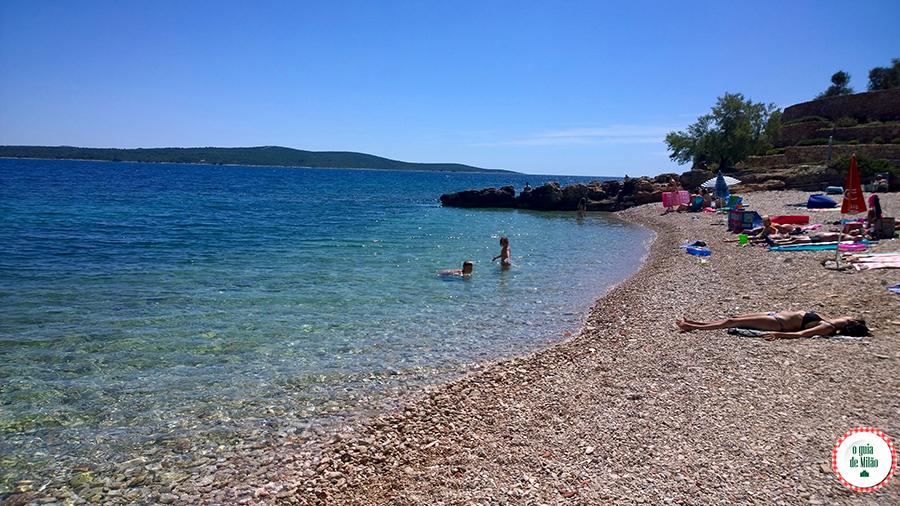 Hvar ou Split Praias Croácia