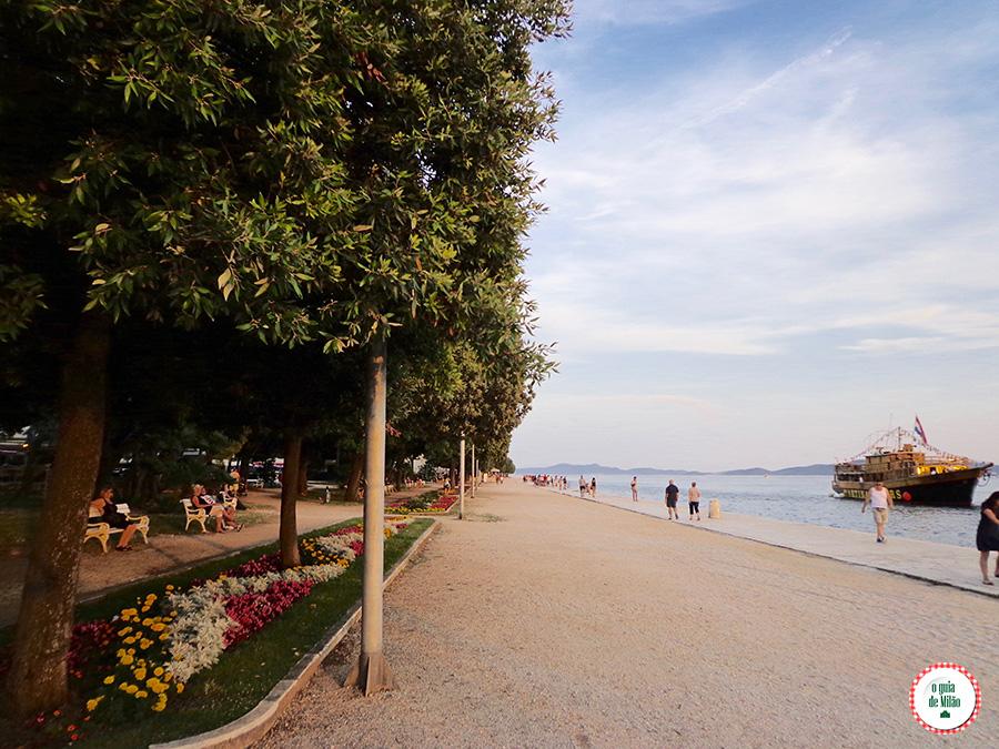 O que visitar em Zadar Croácia