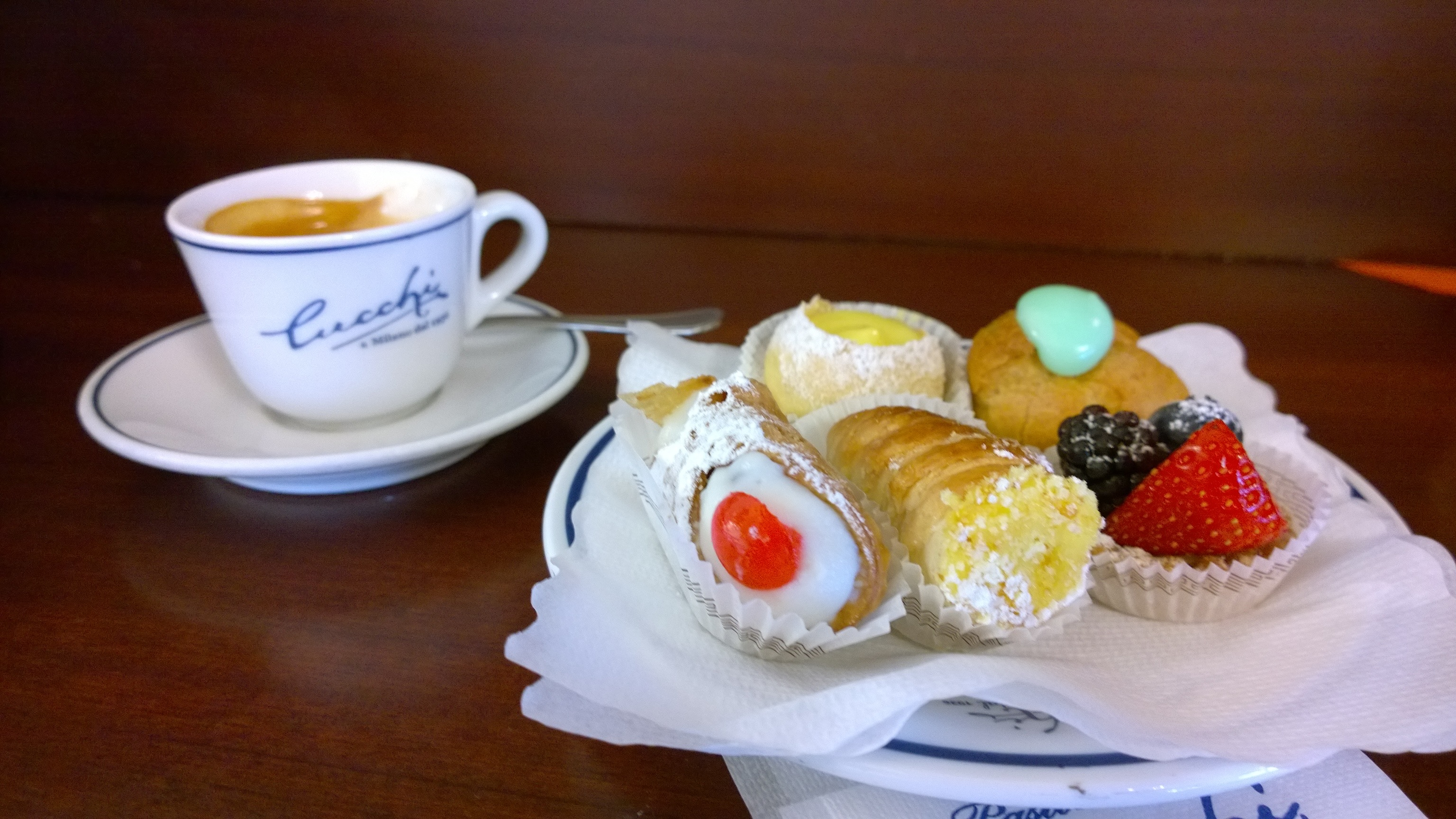 Pastelarias em Milão Confeitarias em Milão Docerias em Milão