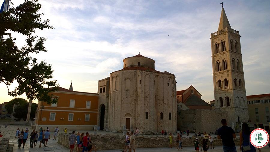 Pontos de interesse de Zadar Croácia