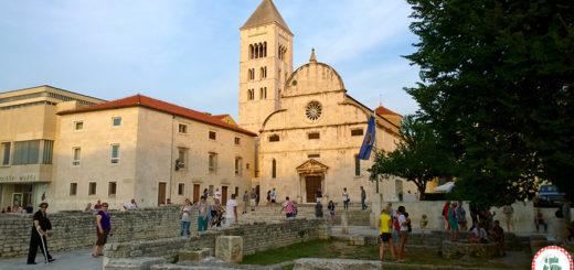 Pontos turísticos de Zadar Croácia